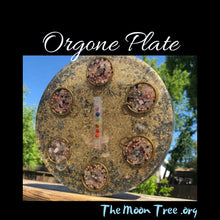 Load image into Gallery viewer, Chakra Orgonite Plate: Luxe Orgone Energy Charging Collection • Reiki Tools