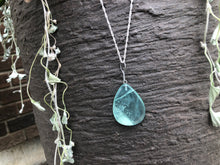 Load image into Gallery viewer, Spiritual Ophiolite Pendant with Silver Plated Necklace