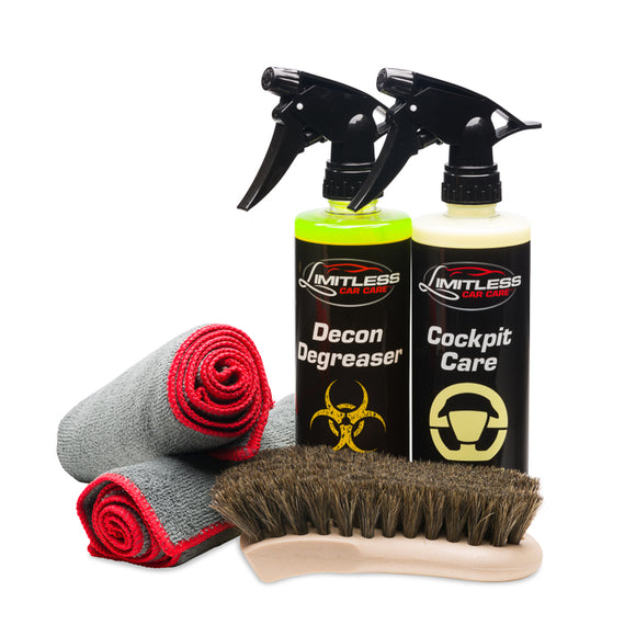INTERIOR CLEAN & CONDITION KIT - Limitless Car Care
