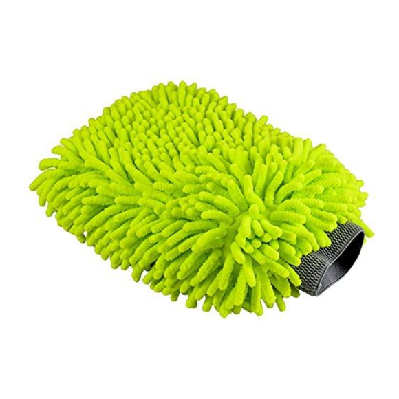MICROFIBER CHENILLE WASH MITT - Limitless Car Care