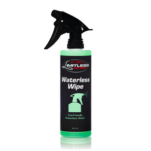 WATERLESS WIPE - Limitless Car Care