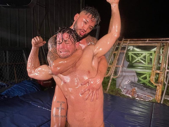 Christian Thorn vs. Blake Starr (Oil Wrestling)