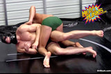 Dark Detective vs. Detective Boy (Oil Wrestling)