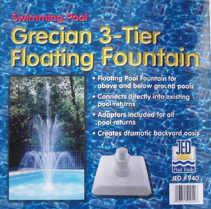 Grecian Three-Tier Floating Fountain - 90-940