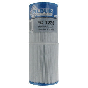 Filbur FC-1220 Pool & Spa Filter Cartridge - CX225-RE, C-4325, PA225-4/M4