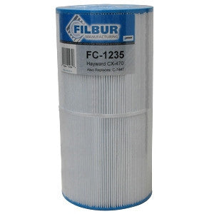 Filbur FC-1235 Pool & Spa Filter Cartridge - CX470-XRE, C-7447, PA50SV/-M/-4/PAK4