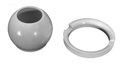Balboa Eyeball & Retaining Ring White - 10-3808WHT