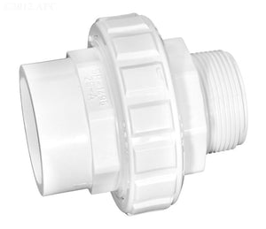 Flush Union 1-1/2 Inch MPT X 1-1/2 Inch Or 2-Inch Spigot - SP14953S