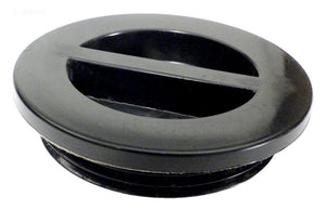 Black Raised Pool Plug - 1-1/2-Inch MPT With O-Ring - SP1022CBLK