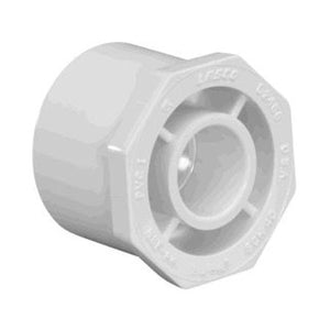 Schedule 40 PVC Fitting - 2-Inch X 1-1/2-Inch Slip X Socket - 437-251