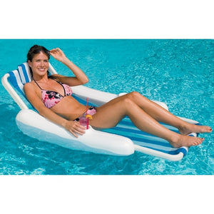 SunChaser Floating Pool Lounge Chair - Inflatable - Swimline 10000
