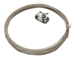 100-Foot Vinyl Coated Cover Cable - AGCAB