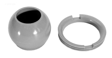Eyeball Fitting And Retaining Ring Replacement - Gray - 10-3808GRY