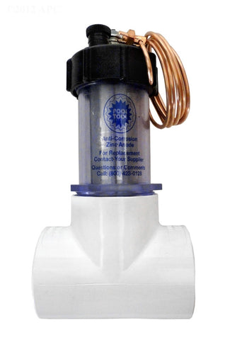 Pool & Spa Anti-Electrolysis Inline Zinc Anode - 104D