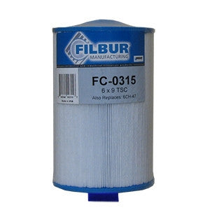 Filbur FC-0315 Pool & Spa Filter Cartridge - 03FIL1500, 6CH-47, PTL47W-P-M