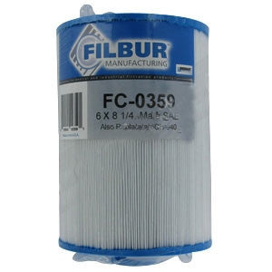 Aber Hot Tub 03FIL1400 Pool and Spa Water Filter