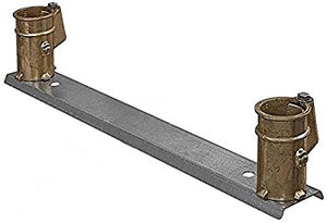 "4"" Bronze Anchor Socket on bar, 20"" on ctr. - PC4020BC"
