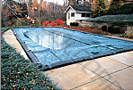 14' x 28' Rectangle In-Ground Pool Classic Winter Pool Cover