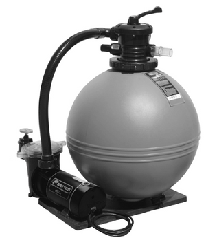TWM SYSTEM 19IN SAND FILTER 1HP - 520-1910-6