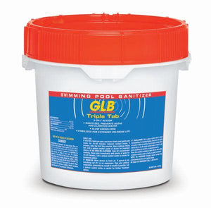 GLB GL71445 10lbs Triple Tab Chlorinating Tablets