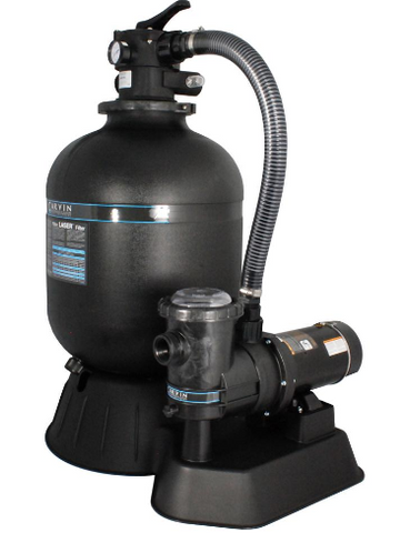 "19"" LASER SAND FILTER W/ 1 HP NON-UL W/ 6' CORD 3 PRONG LUG - 94084958"