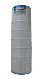 Pool Filter Aladdin 25005 Pool & Spa Replacement Filter Cartridge Comp.