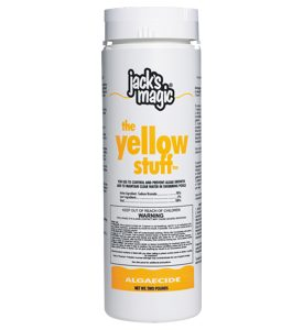Jack's Magic 2lb The Yellow Stuff Algaecide