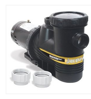 Jacuzzi 94027110 Magnum Force Swimming Pool Pump-1HP
