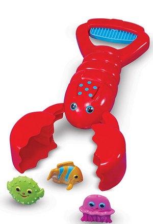 Louie Lobster Claw Catcher Kids Pool Toy - Melissa & Doug 6669