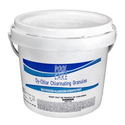 Pool Care Di-Chlor Stabilized Granules - QPC51124 - 25 lbs