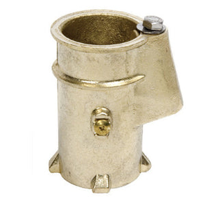 "4"" Bronze Anchor Socket, 1.9""; recommended for rails - AS100B"
