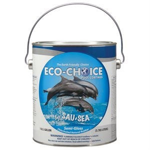 Eco-Choice Pool Paint 1GAL  SEMI-GLOSS AQUA GREEN - 1ECSGRAG