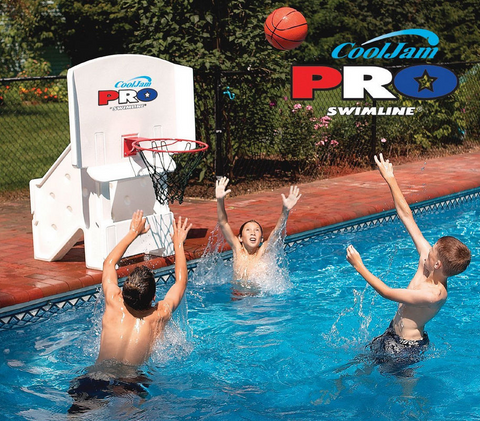 Cool Jam Pro Pool-Side Swimming Pool Basketball - Swimline 9195