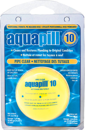 Aquapill #10 Pipe Clear Case of 12 - AP10CS