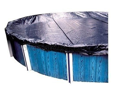 18' Round Above-Ground Pool Classic Winter Pool Cover