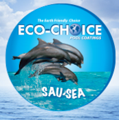 Sau-Sea Eco-Choice Premium Semi-Gloss Rubber Pool Paint - 1ECSGRTB - 1 gal