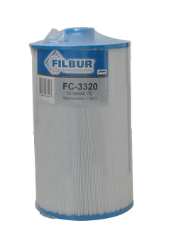 Filbur FC-3320 Pool & Spa Filter Cartridge - 100594, C-8475, PCS75N