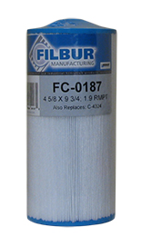 Filbur FC-0187 Replacement Filter for Pleatco Ptl-20Hs Pool & Spa