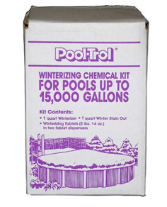 Pool Water Winter Kit For 15000 Gallon Pools - Pool-Trol 57522 EACH