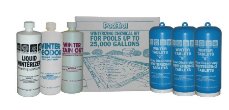 Pool Water Winter Kit For 25000 Gallon Pools - Pool-Trol 57525 EACH
