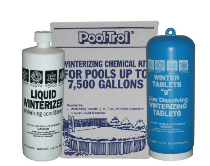 Pool Water Winter Kit For 7500 Gallon Pools - Pool-Trol 57519 EACH