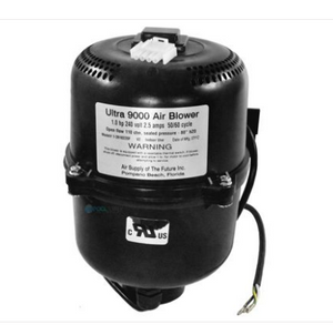 Ultra 9000 Spa Air Blower 3910220 with 240V 1HP 2.4 Amp