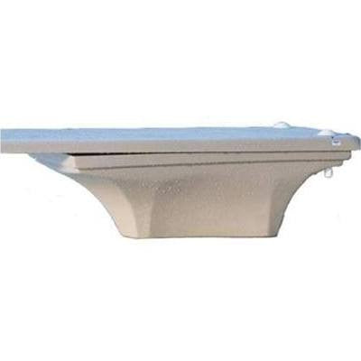 Inter-Fab La Mesa White Fiberglass Dive Base  - LAM8-NJ