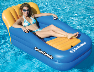 Inflatable Pool Cooler Couch - Swimline 15181SF