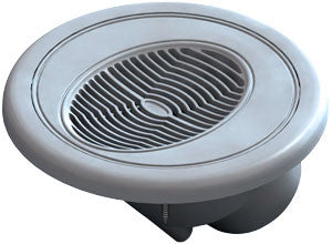 "Waterway 4.5"" Gray Flush Mount Spa Speaker - 675-0457"