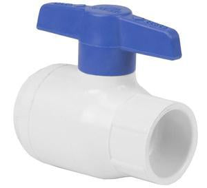 Spears 2622-025 2 1/2-in Socket, PVC Utility Ball Valve