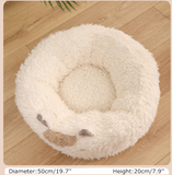 Cute Cat Bed Alpaca Shape Kitten Warm House for cats Small Dogs