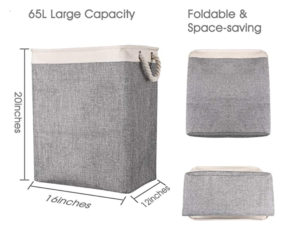 Foldable Laundry Hamper for Toys Clothing Organization Pet supplies storage