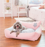 Winter Crown Pet Bed for Dog and Cat