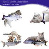 PETSOFTCARE® Realistic Cat Kicker Fish Toy